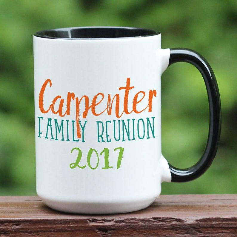 image 0 & Family reunion coffee mug custom family reunion gift family | Etsy