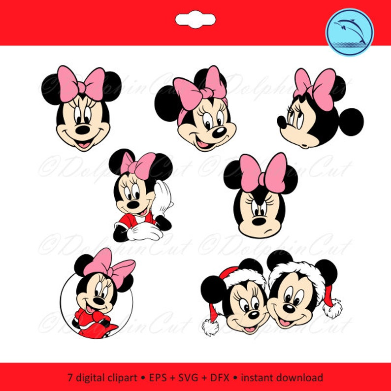 399f9bdb45 Myszka Minnie Head Disney charakter logo sylwetki obrazu do