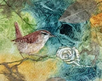 Jenny Wren original by Shari Hills