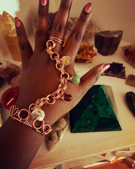 Multi Stone Freedom Bracelet