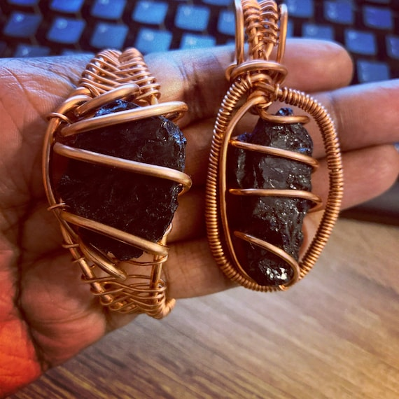 2pc Raw Stone Set