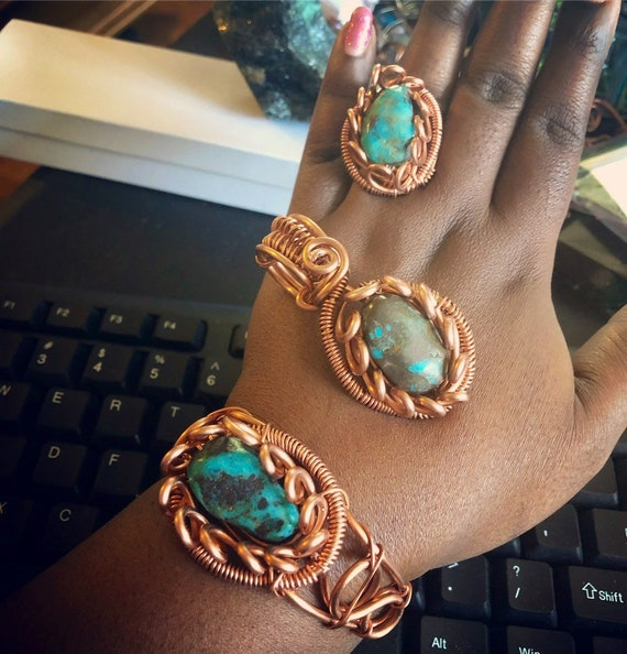 Turquoise Royalty Set