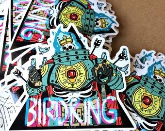 BIRDKING stickers.