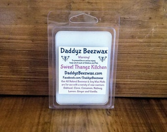 Sweet Thangz Kitchen: Scented All Natural Beeswax and Organic Soy Wax Melts! 6 Blocks Per Pack.