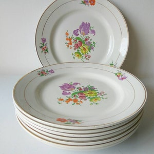 Moulin des Loups /& Hamage Small vintage serving dishes  French antique ironstone small lozenge form serving plates  From Saint Amand