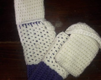 Hobo gloves with or without finger covers