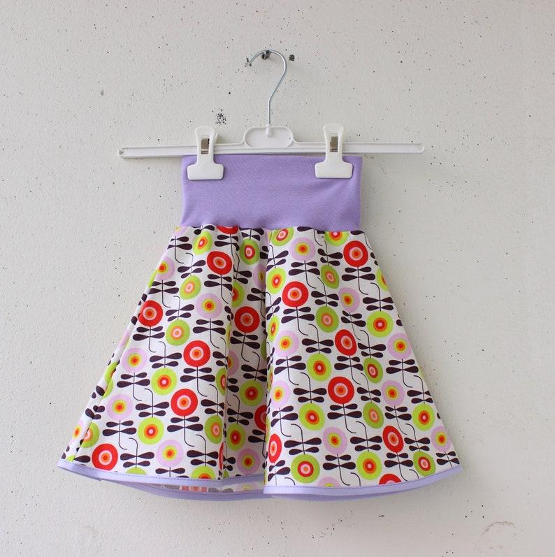 Skirt with Flowers elastic Waist Skirt Skirt Girl Skirt Girl Birthday Gift Cotton Skirt Summer Skirt Girls Toddler Girl Clothes