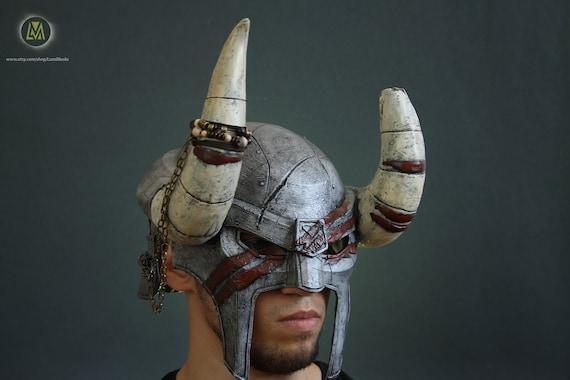 The Elder Scrolls Online Nord Hero Helmet Halloween Costume Etsy