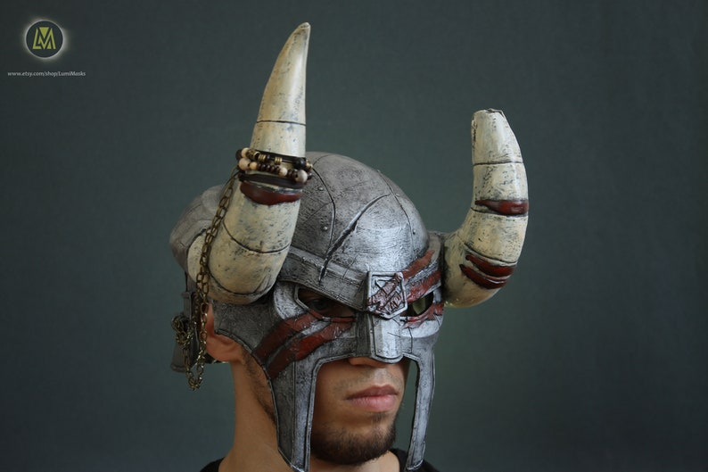 The Elder Scrolls Online Nord Hero Helmet Etsy
