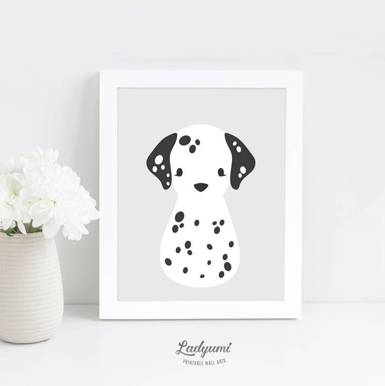 image regarding Dalmation Printable identify Puppy Nursery Wall Artwork, Dalmatian Nursery Print, Printable Small children Wall Artwork, Scandinavian Nursery Decor, Electronic Obtain Artwork, Child Shower Reward