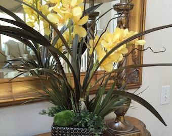 Artificial Orchids, Silk Orchid Arrangements, Tropical Florals, Orchids