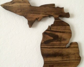 Michigan State Sign