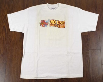 Vintage No Use For A Name t shirt 1997 making friends all summer long  Deadstock vtg XL murina made in usa 63ce660cf