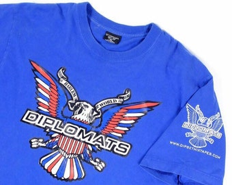 d5709cfa104 Vintage Diplomats T shirt sz XL dipset camron 2000 s original purple haze  vtg