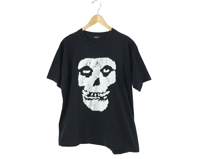 Vintage 90\u2019s Misfits Crimson Skull T shirt sz XL