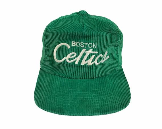 Vintage 1980's Boston Celtics Corduroy hat Sports