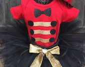 Inspired by The Greatest Showman Ring Master Borthday Tutu Set Newborn, 3-6 m, 6-12 m 12-24 m 2T,3T up to Size 8