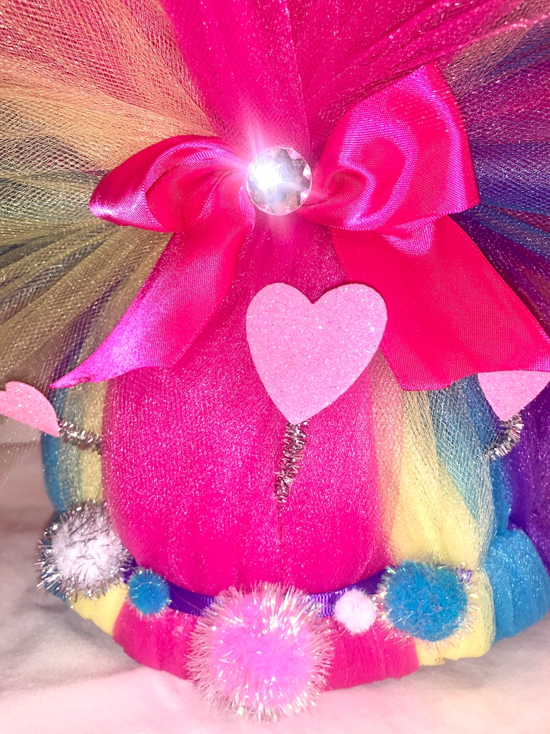 inspired Rainbow Princess Poppy TROLL wig Hair Halloween Costume Size for Adults and children