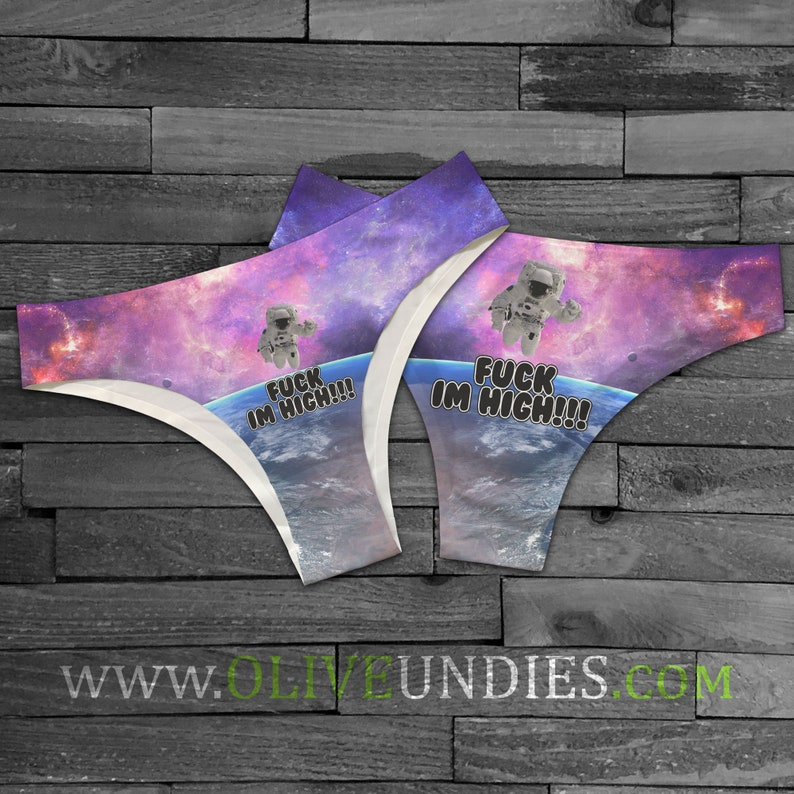 Fuck I'm High Spaceman Underwear image 0