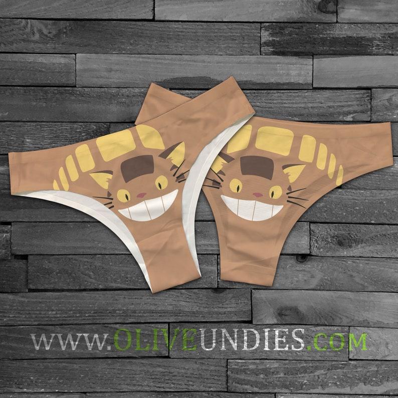 CatBus / Cat Undies / Kitty Underwear image 0
