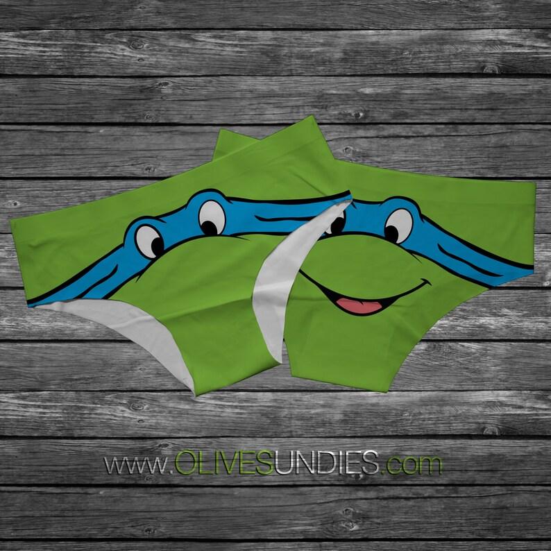 Cow-a-Bunga Turtle Panties image 0
