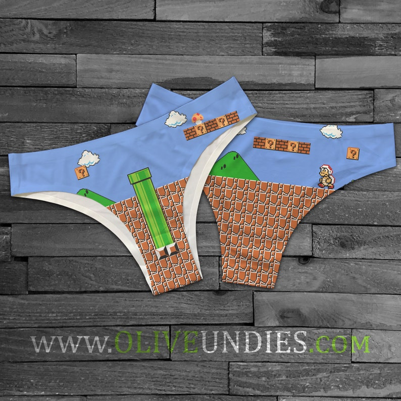 Super Mario Undies image 0