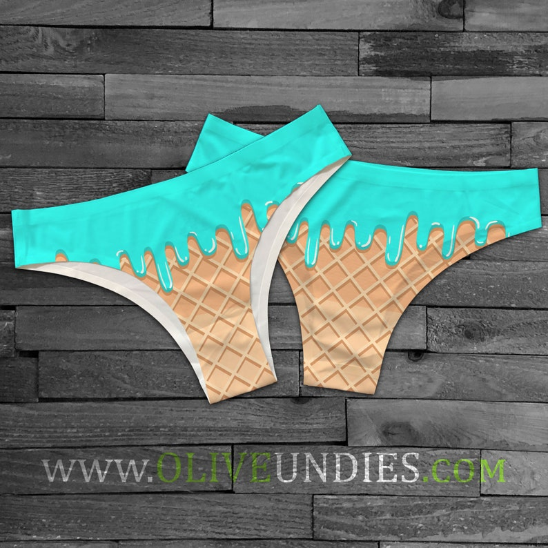 Ice Cream Food Undies / Food knickers / Ice Cream Underwear / image 0