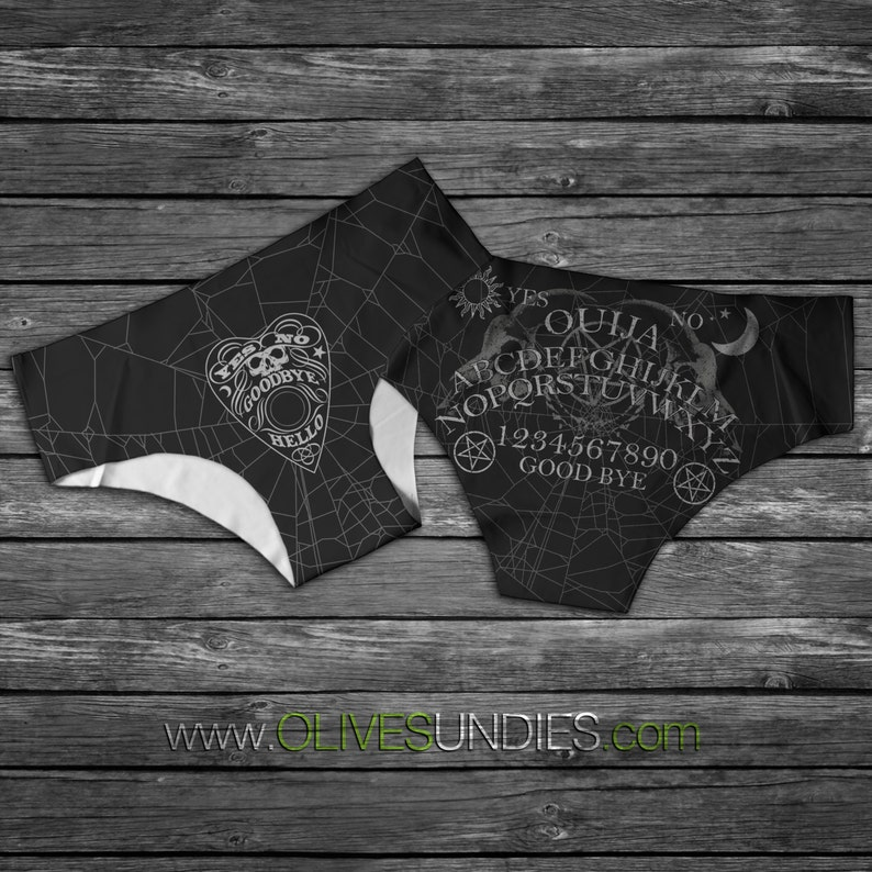 Ouija Board / Horror / Witch / WitchCraft /Wiccan Panties / image 0