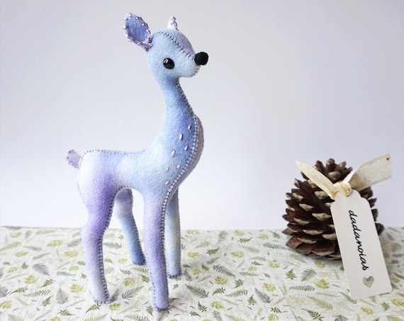 Fawn Doll, Fairy Toy, Soft Scultpure, Kawaii