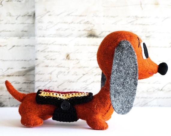 Dachshund Doll, sausage dog, dog lover gift