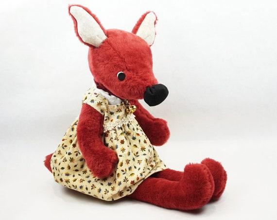 Lady Fox, Zorra Rojo de Peluche