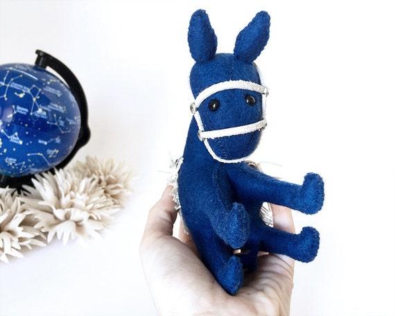Burro Ego Azul