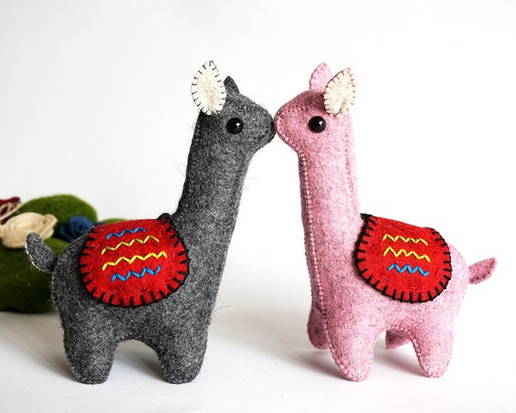 Wedding Topper, Llama Love, Animal Wedding, Llama Couple