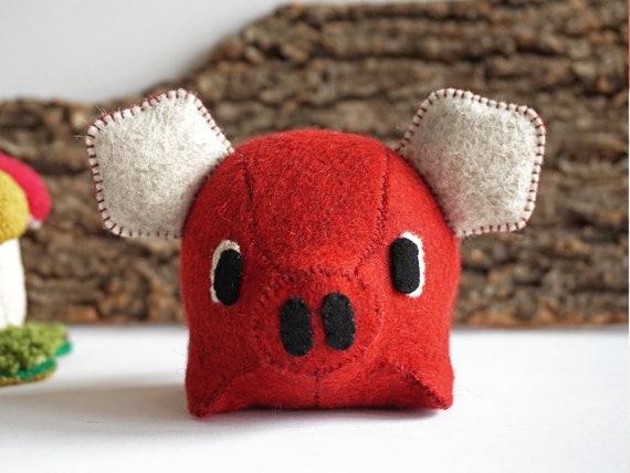 Oink Pig-Red