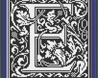 William Morris E Initial