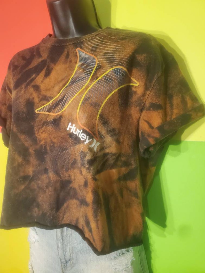 FlyDyes Vintage Acid Wash Crop Tops