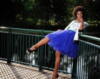 Full Knee Length Tulle Skirt