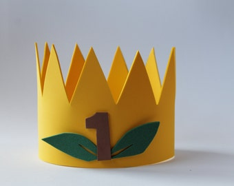 "Crown ""King of the Forest"" birthday"