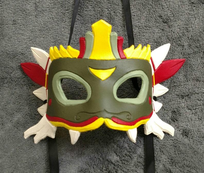 78910e29ad Quetzalcoatl Mask | Etsy