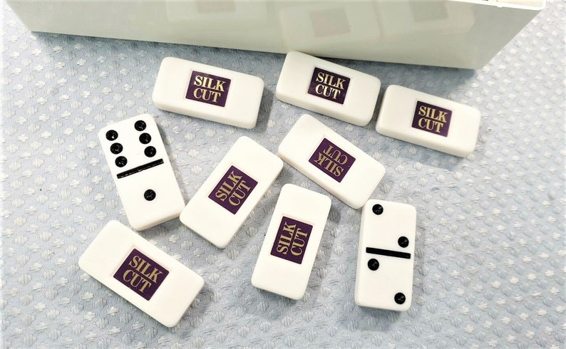 King Size Dominoes /& Cribbage Games Set Games Sport Vintage Silk Cut Pub Home Club Official Gift