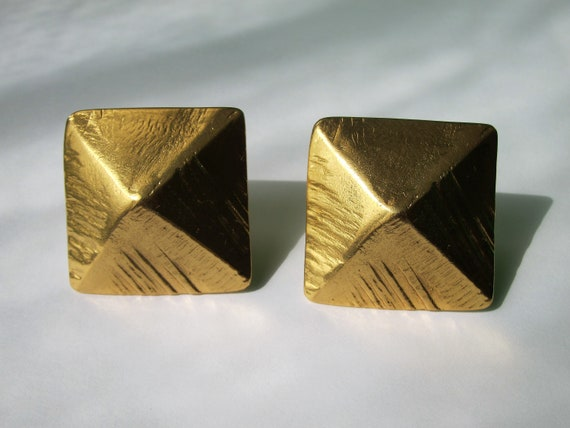 sac vintage yves saint laurent triangle 80's