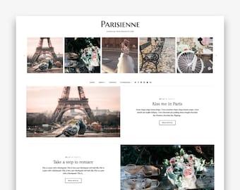 Parisienne | Responsive Minimalist Premade Blogger Template