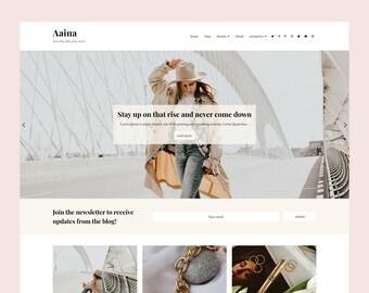 Aaina - Blogger Template, Premade Blogger Theme, Responsive Blogger Template, Responsive Blogger Theme, Minimalist Blogger Theme