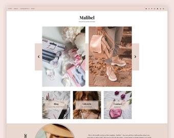 Malibel - Blogger Template, Premade Blogger Theme, Responsive Blogger Template, Responsive Blogger Theme, Minimalist Blogger Theme