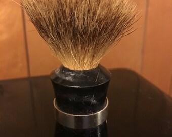 Vintage Ever-Ready black bristle shaving brush