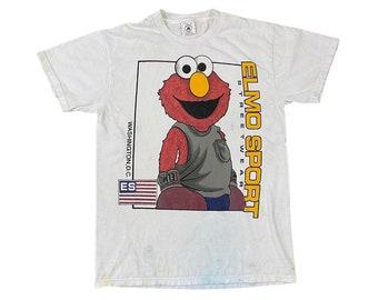 Elmo Polo Sport Sesame Street Wear Parody T-Shirt (M)