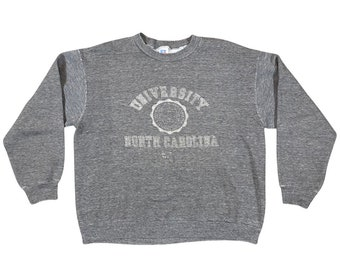 90s UNC University of North Carolina Chapel Hill Seal Rayon Sweatshirt (XL)