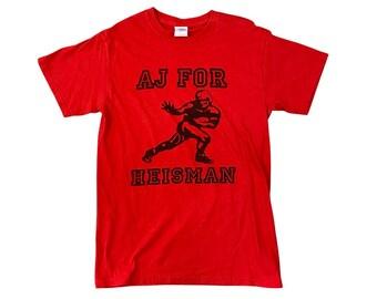 AJ Green Georgia Bulldogs UGA Heisman Trophy Campaign T-Shirt (S)