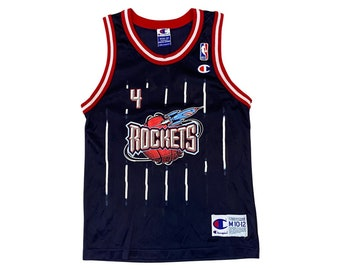 90's Charles Barkley #4 Houston Rockets Champion Jersey (YM)