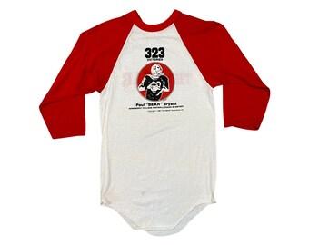 """1984 Bear Bryant """"The Bear"""" Movie Promo Alabama T-shirt (S)"""